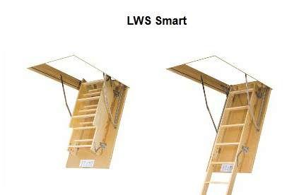 FAKRO bēniņu kāpnes SMART LWS-