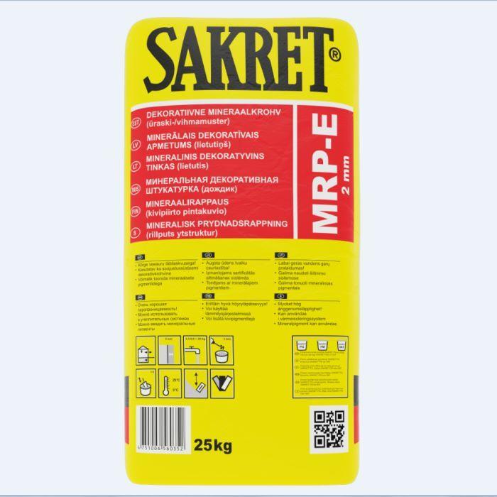 SAKRET MRP-E 2mm dekoratīvais