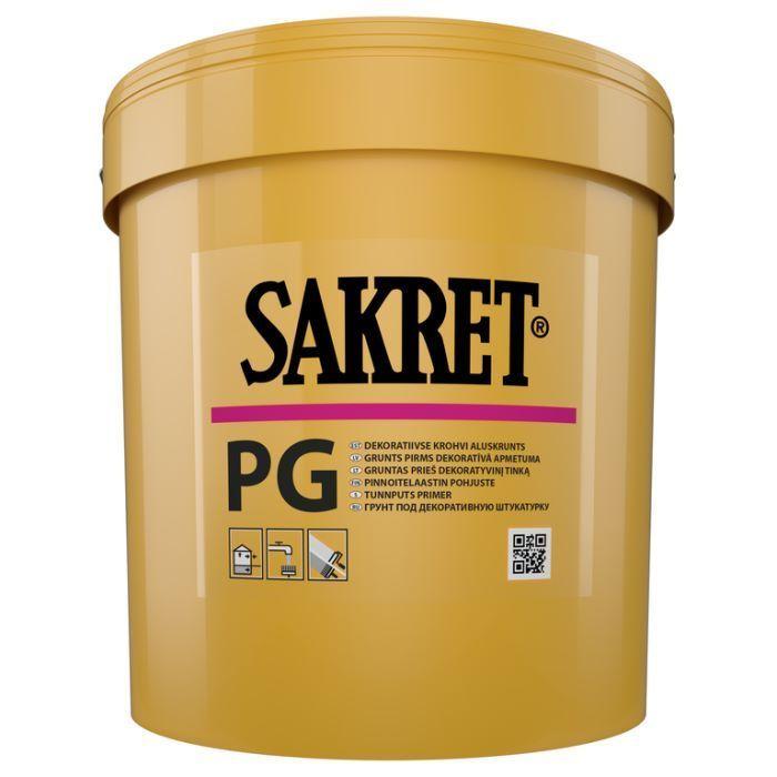 Grunts SAKRET PG 15 kg (zem de